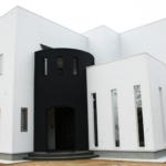 2階リビングの家の外観