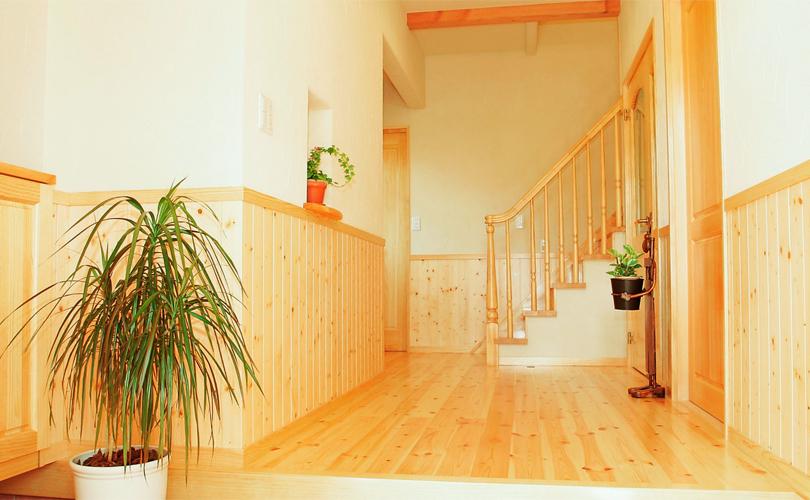 自然素材が気持ち良い注文住宅