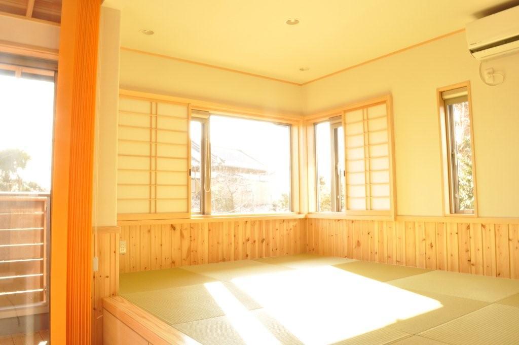 おしゃれなデザインの和室