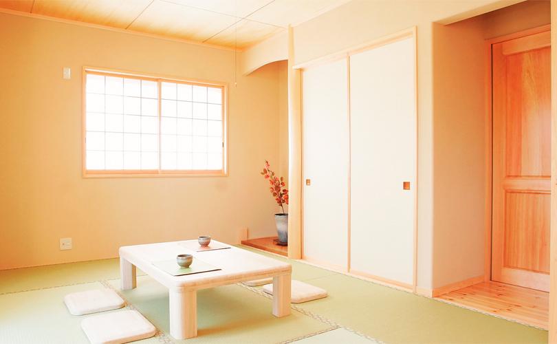 自然素材の和室