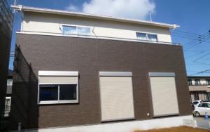 茨城県鹿嶋市の自由設計の新築一戸建て外観