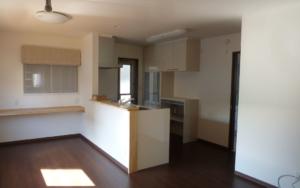 鹿嶋市で28坪で叶えた使いやすい対面キッチンのある新築一戸建て