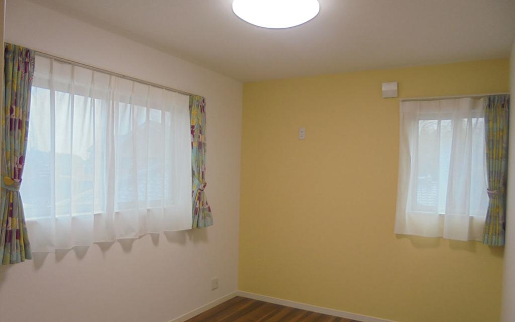 パステルカラーのおしゃれな居室