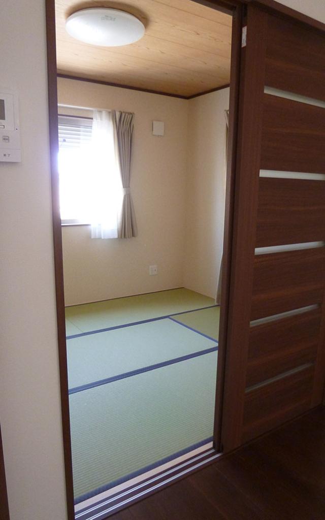 便利な和室の部屋
