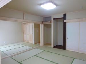 平屋の和室