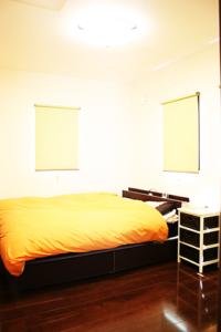 平屋の寝室