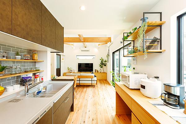 小見川モデルハウス-キッチン