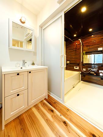 小見川モデルハウス-洗面室