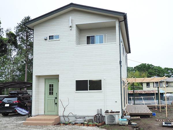 成田市の自由設計2階建て注文住宅