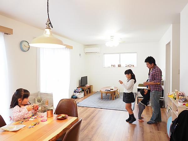 成田市の28坪の新築一戸建て