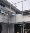 金属サイディング(外壁)工事中のS様邸
