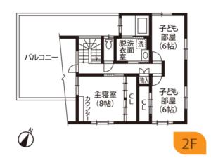 成田市S様邸間取り図2