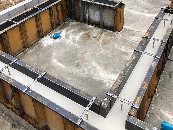 M様邸の家づくり-基礎コンクリート