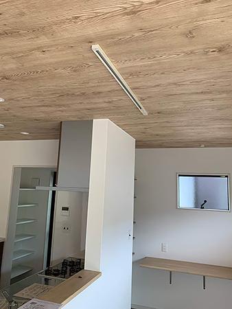 A様邸キッチン電気工事
